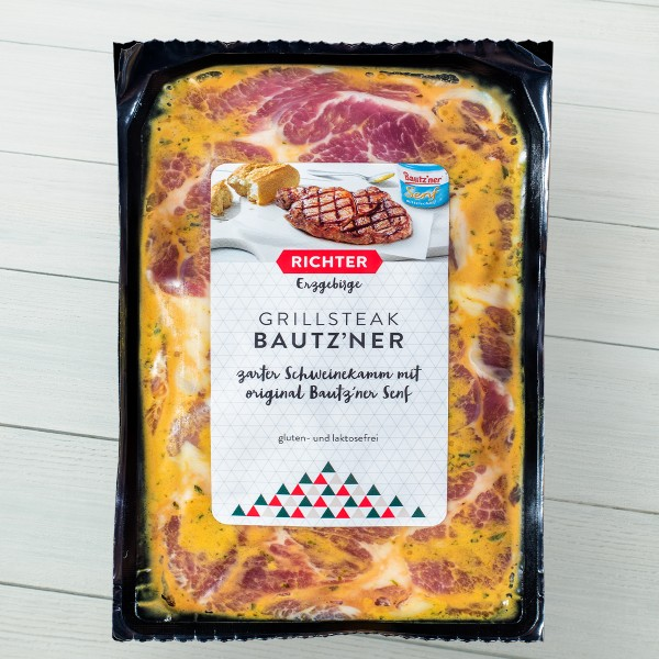 Grillsteak Bautzner Senf