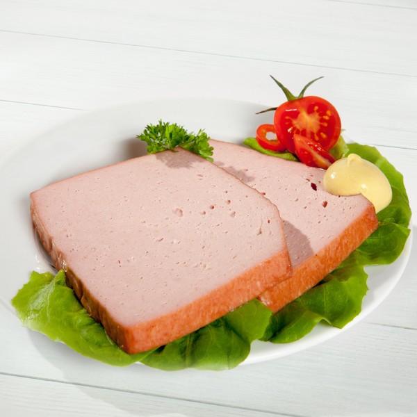 Fleischkäse Serviervorschlag