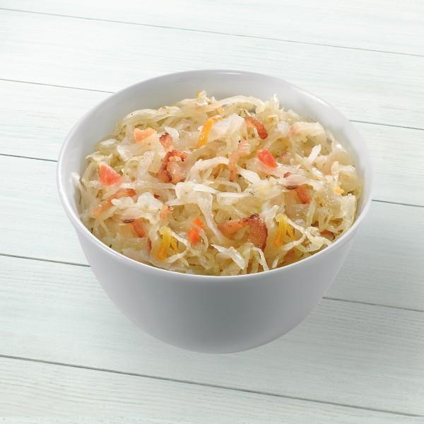 Oederaner Sauerkraut Serviervorschlag