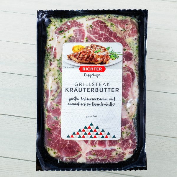 Grillsteak Kräuterbutter