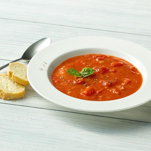 Tomatensuppe Serviervorschlag