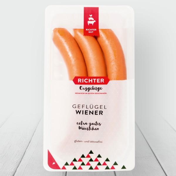Geflügel Wiener in Verpackung